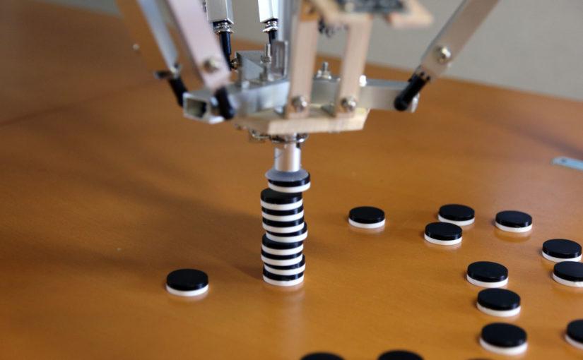 Adding Computer Vision to the Arduino Delta Robot