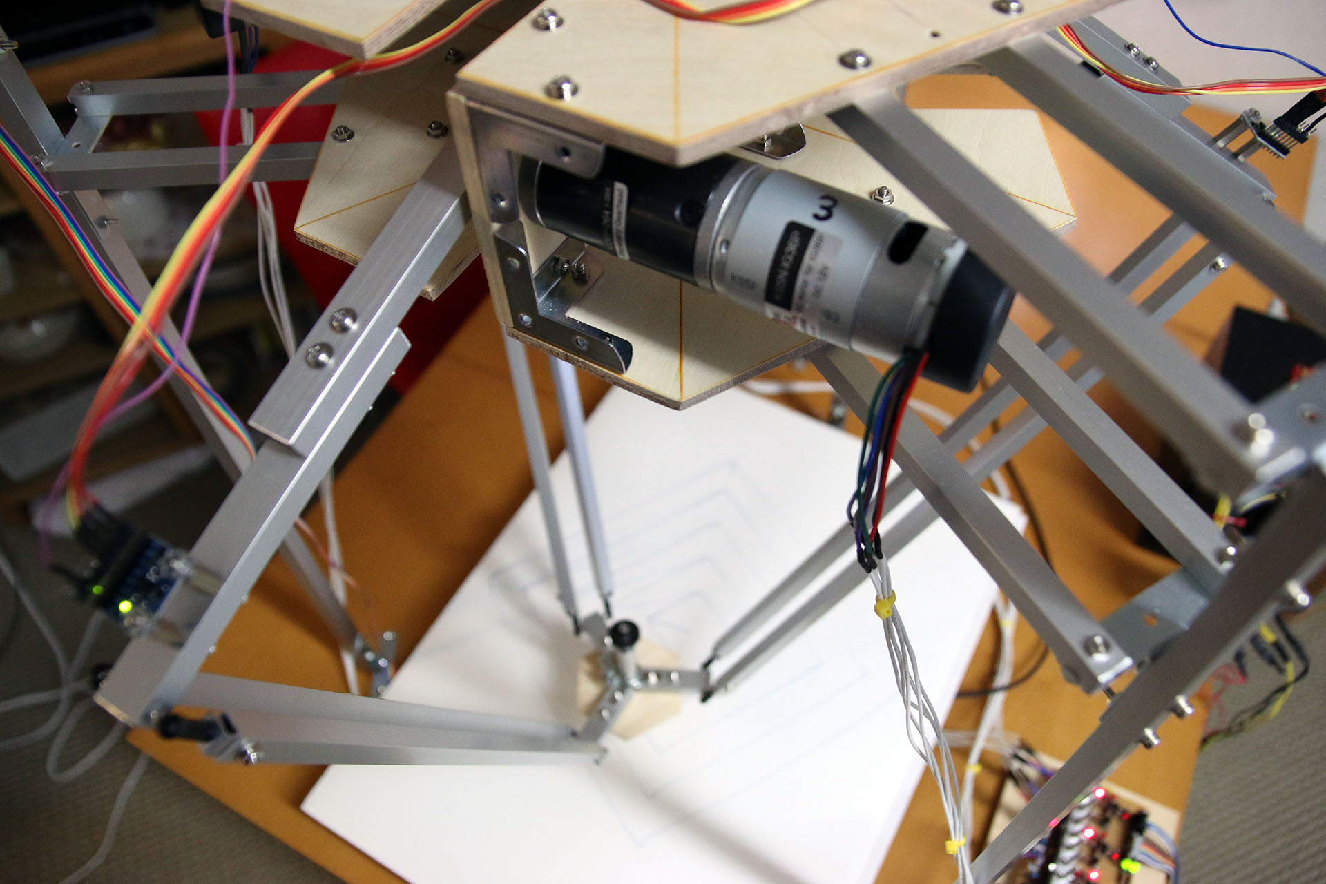 Arduino Delta Robot Electron Dust 12v Stepper Motor Geared 4 Phase 5 Wires For Experiment